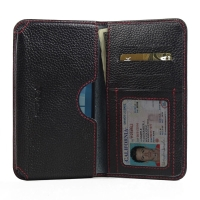 10% OFF + FREE SHIPPING, Buy PDair Quality Handmade Protective Microsoft Lumia 950 XL Leather Wallet Sleeve Case (Red Stitching) online. You also can go to the customizer to create your own stylish leather case if looking for additional colors, patterns a