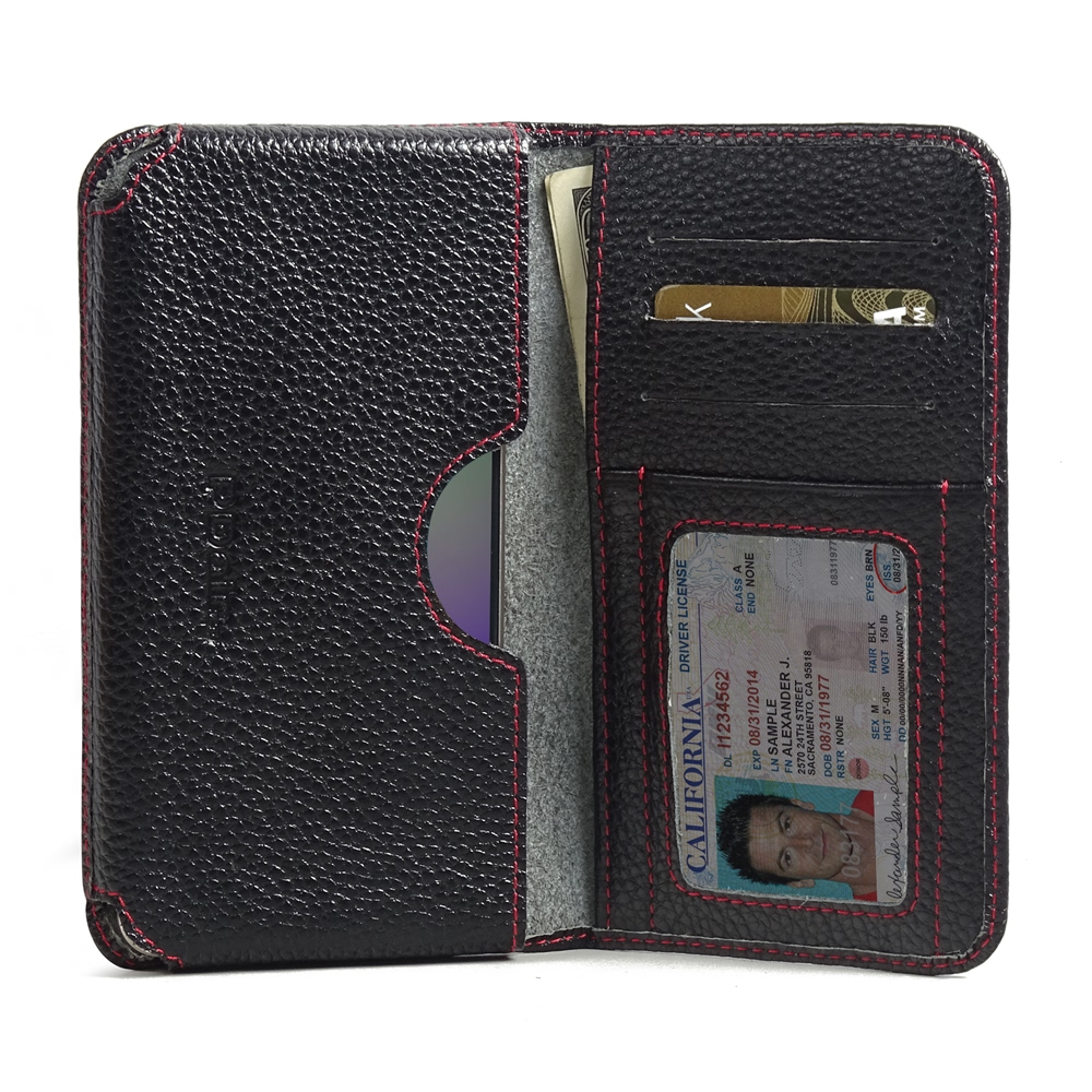 10% OFF + FREE SHIPPING, Buy PDair Quality Handmade Protective Samsung Galaxy A5 2016 Leather Wallet Sleeve Case (Red Stitching) online. You also can go to the customizer to create your own stylish leather case if looking for additional colors, patterns a