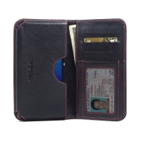 10% OFF + FREE SHIPPING, Buy PDair Top Quality Handmade Protective Sony Xperia M5 Leather Wallet Sleeve Case (Red Stitch) online. Pouch Sleeve Holster Wallet You also can go to the customizer to create your own stylish leather case if looking for addition