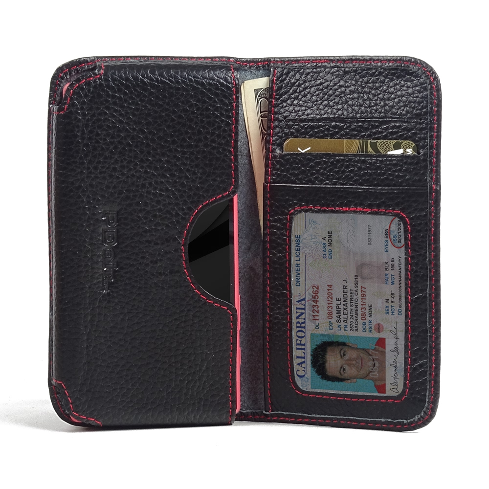 10% OFF + FREE SHIPPING, Buy PDair Quality Handmade Protective Sony Xperia Z5 Compact Leather Wallet Sleeve Case (Red Stitching) online. You also can go to the customizer to create your own stylish leather case if looking for additional colors, patterns a