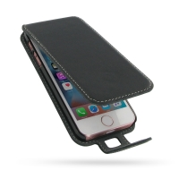 Leather Flip Case for Apple iPhone SE