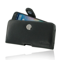 Leather Horizontal Pouch Case with Belt Clip for Acer Liquid Z630