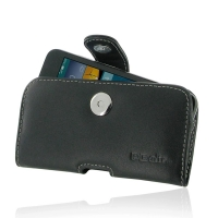 Huawei Ascend Y560 Leather Holster Case PDair Premium Hadmade Genuine Leather Protective Case Sleeve Wallet