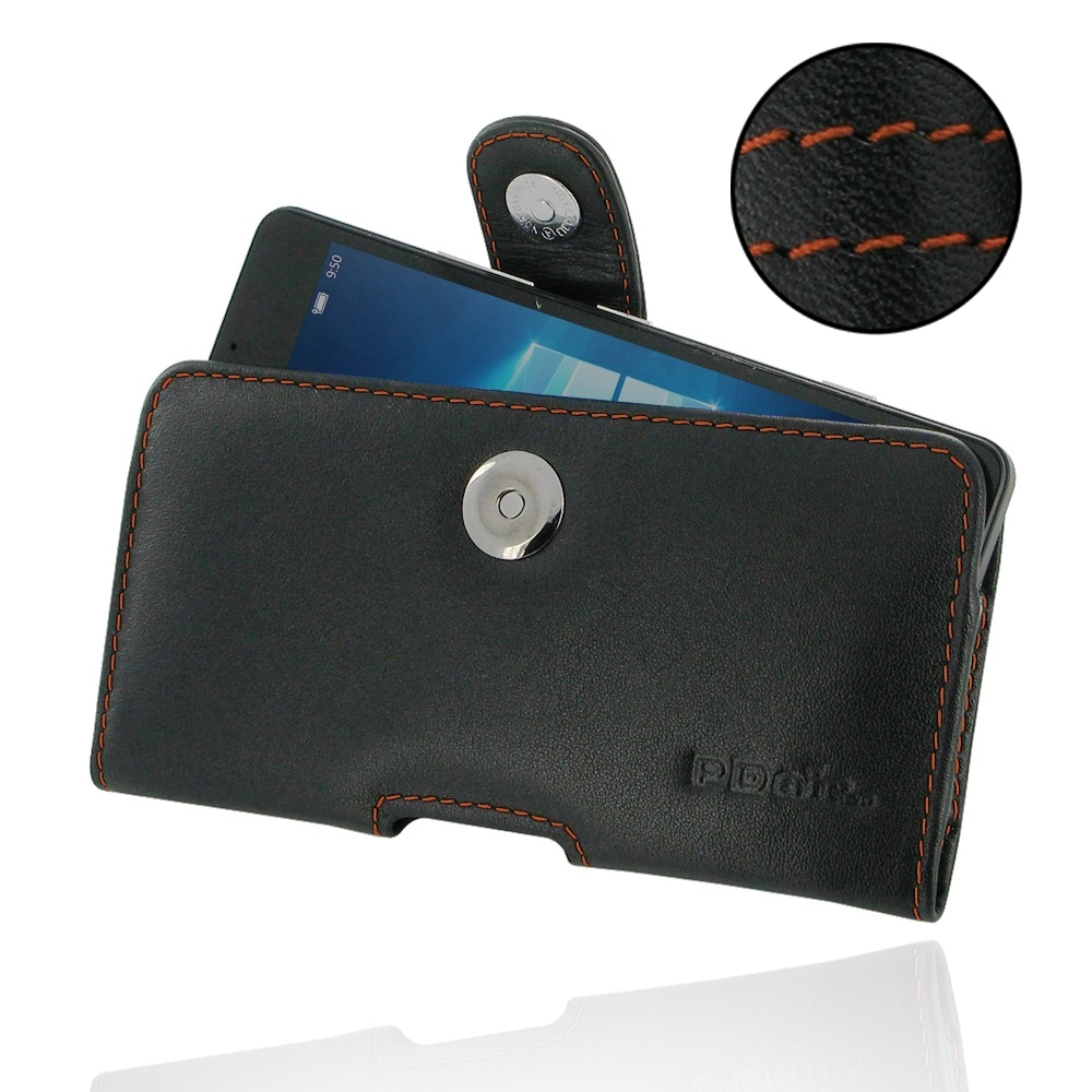 10% OFF + FREE SHIPPING, Buy PDair Top Quality Handmade Protective Microsoft Lumia 950 Leather Holster Case (Orange Stitch) online. You also can go to the customizer to create your own stylish leather case if looking for additional colors, patterns and ty