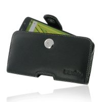 Leather Horizontal Pouch Case with Belt Clip for Motorola Moto X Play