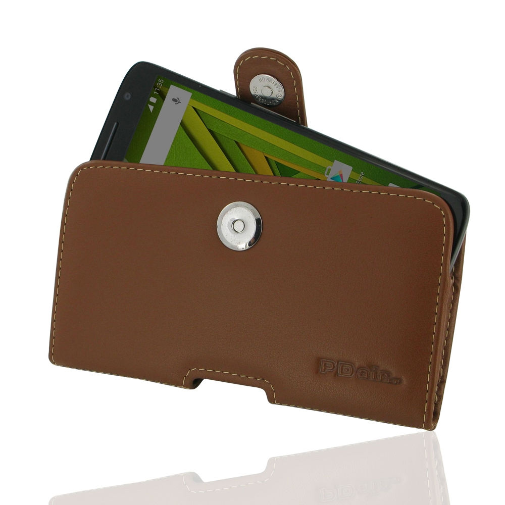10% OFF + FREE SHIPPING, Buy Best PDair Top Quality Handmade Protective Moto X Play Leather Holster Case (Brown) online. Pouch Sleeve Holster Wallet You also can go to the customizer to create your own stylish leather case if looking for additional colors