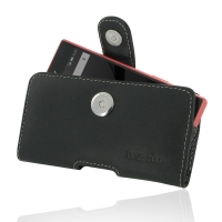 Leather Horizontal Pouch Case with Belt Clip for Sony Xperia Z5 Compact