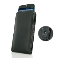 Leather Vertical Pouch Belt Clip Case for Acer Liquid Z630