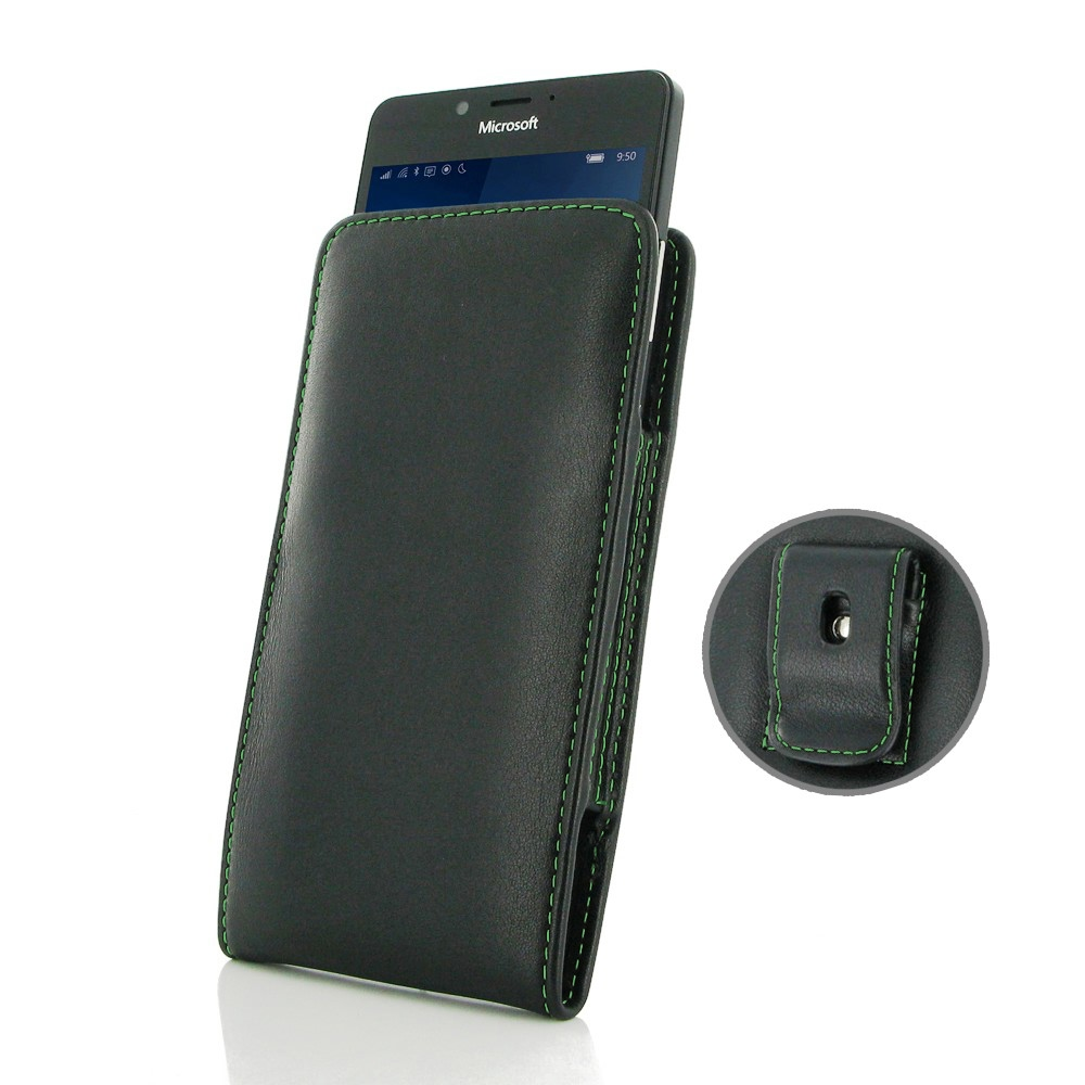 10% OFF + FREE SHIPPING, Buy Best PDair Quality Handmade Protective Microsoft Lumia 950 Pouch Case with Belt Clip (Green Stitch). You also can go to the customizer to create your own stylish leather case if looking for additional colors, patterns and type