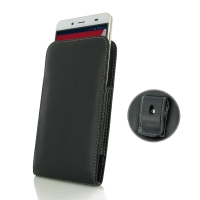 Leather Vertical Pouch Belt Clip Case for Pepsi Phone P1 P1s