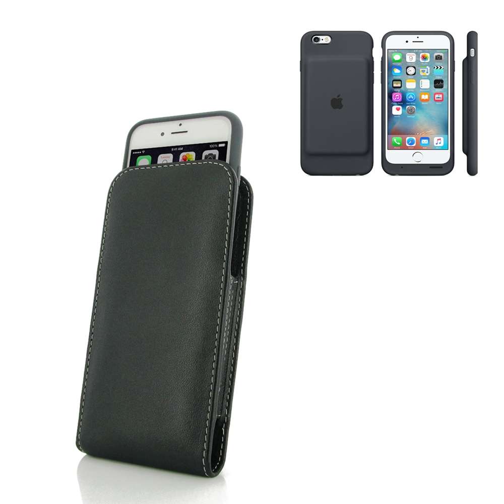 10% OFF + FREE SHIPPING, Buy PDair Quality Handmade Protective iPhone 6 | iPhone 6s in Official Smart Battery Case Leather Sleeve Pouch Case. You also can go to the customizer to create your own stylish leather case if looking for additional colors, patte