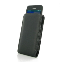 Leather Vertical Pouch Case for Huawei Ascend Y560
