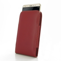 Leather Vertical Pouch Case for Huawei Mate S (Red)