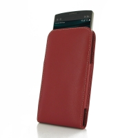 Leather Vertical Pouch Case for LG V10 (Red)