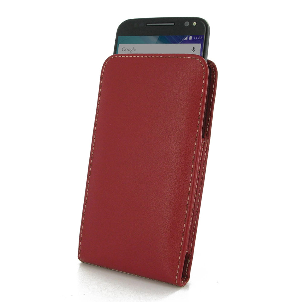 10% OFF + FREE SHIPPING, Buy PDair Top Quality Handmade Protective Moto X Style / Pure Edition Leather Sleeve Pouch Case (Red). Pouch Sleeve Holster Wallet You also can go to the customizer to create your own stylish leather case if looking for additional