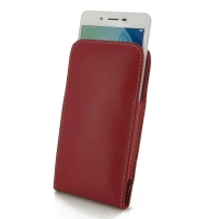Leather Vertical Pouch Case for OPPO A51 (Red)