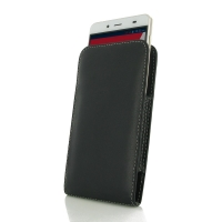 Leather Vertical Pouch Case for Pepsi Phone P1 P1s