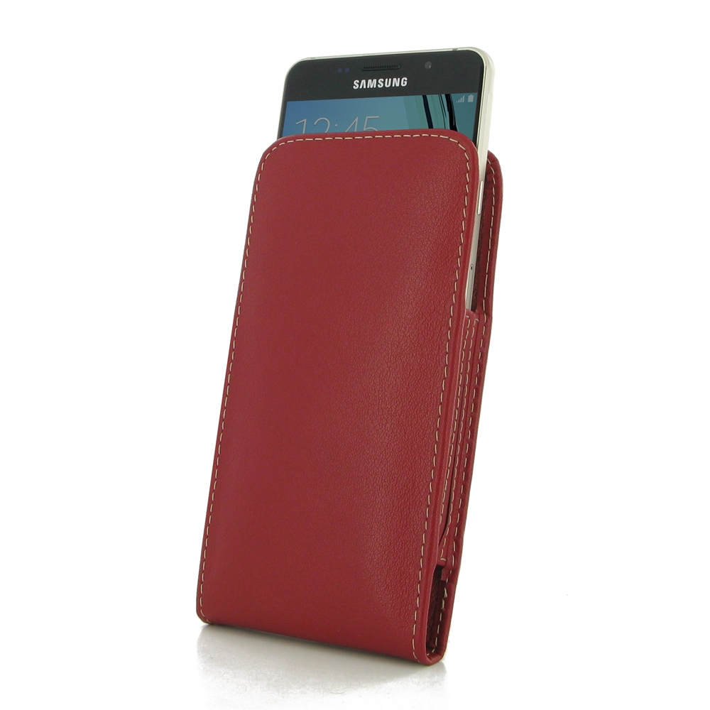 10% OFF + FREE SHIPPING, Buy PDair Top Quality Handmade Protective Samsung Galaxy A5 2016 Leather Sleeve Pouch Case (Red) online. Pouch Sleeve Holster Wallet You also can go to the customizer to create your own stylish leather case if looking for addition