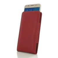 Leather Vertical Pouch Case for Samsung Galaxy J5 (2016) (Red)