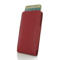 10% OFF + FREE SHIPPING, Buy Best PDair Quality Handmade Protective Samsung Galaxy S6 edge+ Plus Leather Sleeve Pouch Case (Red). Pouch Sleeve Holster Wallet You also can go to the customizer to create your own stylish leather case if looking for addition