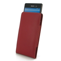 10% OFF + FREE SHIPPING, Buy Best PDair Top Quality Handmade Protective Sony Xperia M5 Leather Sleeve Pouch Case (Red) online. Pouch Sleeve Holster Wallet You also can go to the customizer to create your own stylish leather case if looking for additional