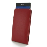 10% OFF + FREE SHIPPING, Buy Best PDair Quality Handmade Protective Sony Xperia Z3+ Plus / Xperia Z4 Leather Sleeve Pouch Case (Red) You also can go to the customizer to create your own stylish leather case if looking for additional colors, patterns and t
