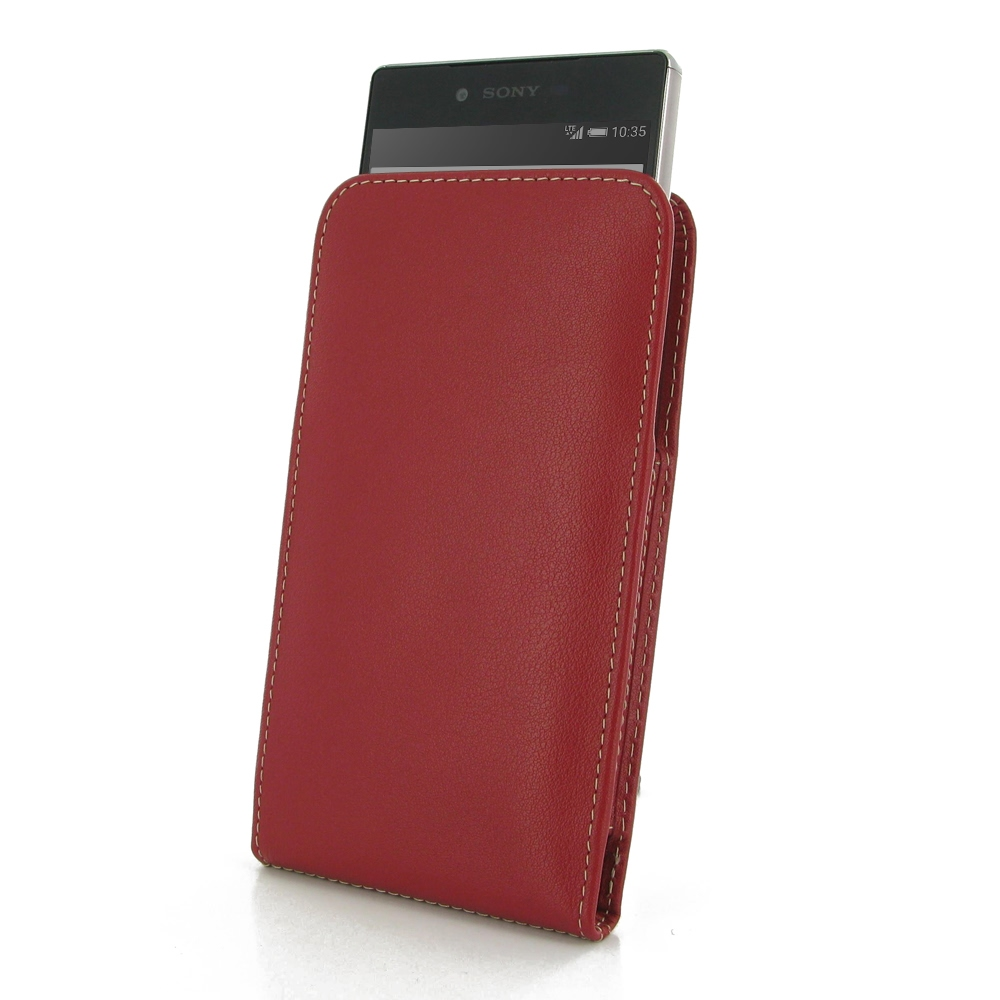 10% OFF + FREE SHIPPING, Buy PDair Top Quality Handmade Protective Sony Xperia Z5 Premium Leather Sleeve Pouch Case (Red) online. Pouch Sleeve Holster Wallet You also can go to the customizer to create your own stylish leather case if looking for addition