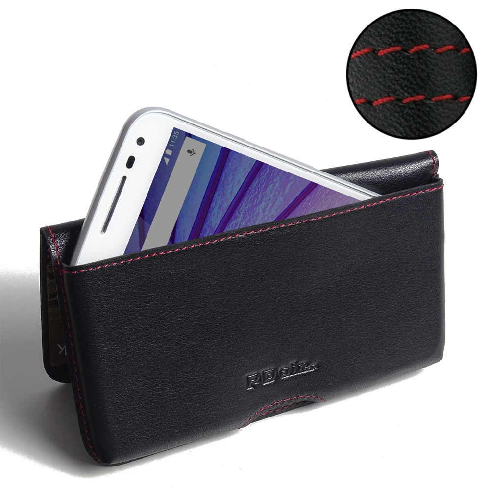10% OFF + FREE SHIPPING, Buy PDair Top Quality Handmade Protective Moto G 3rd Gen 2015 Leather Wallet Pouch Case (Red Stitch). Pouch Sleeve Holster Wallet You also can go to the customizer to create your own stylish leather case if looking for additional