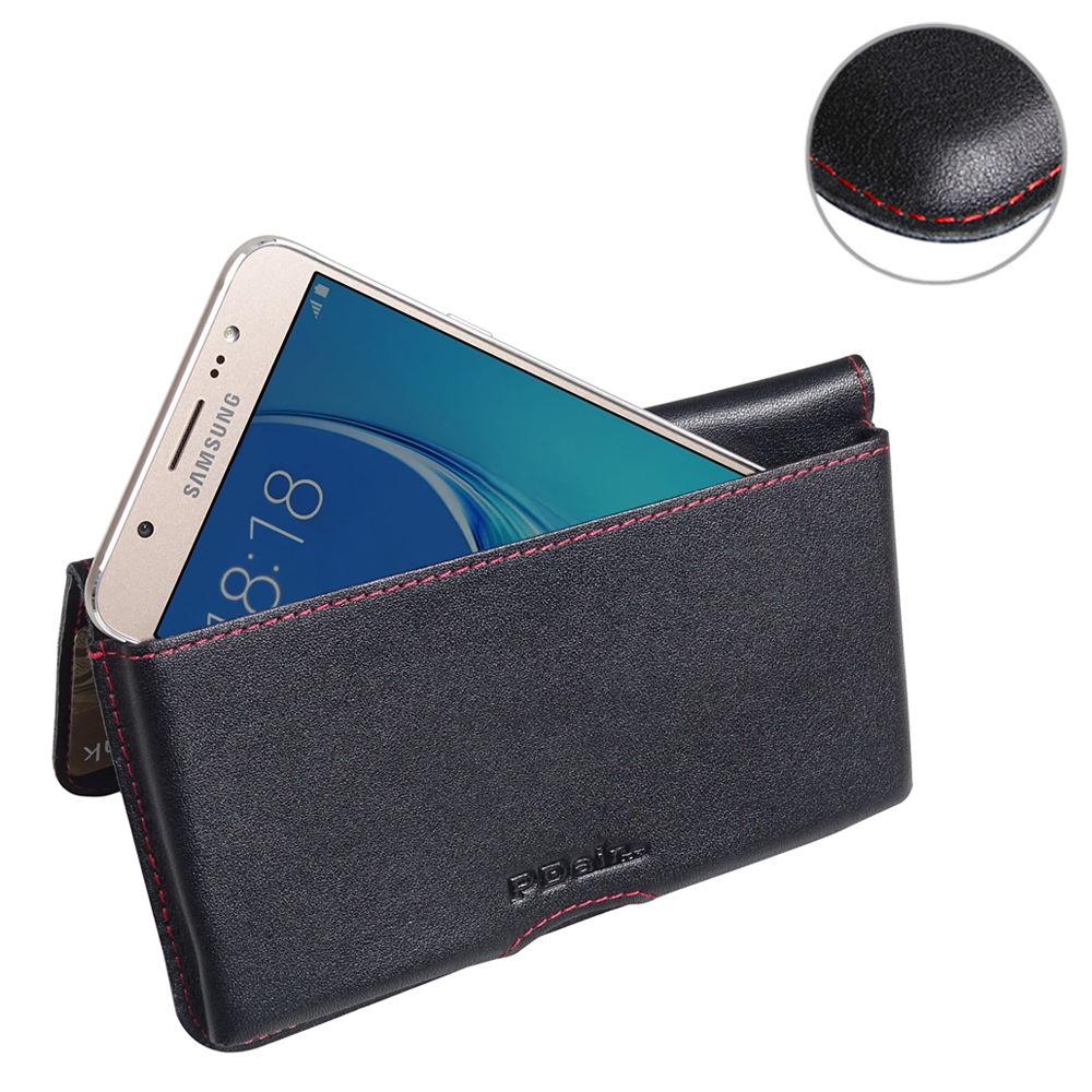 10% OFF + FREE SHIPPING, Buy Best PDair Quality Handmade Protective Samsung Galaxy J7 2016 Leather Wallet Pouch Case (Red Stitch). Pouch Sleeve Holster Wallet You also can go to the customizer to create your own stylish leather case if looking for additio