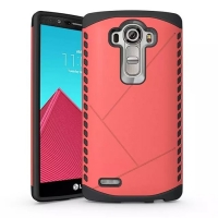 Hybrid Combo Aegis Armor Case Cover for LG G4 H815 (Pink)