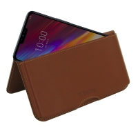 10% OFF + FREE SHIPPING, Buy the BEST PDair Handcrafted Premium Protective Carrying LG G7 Fit Leather Wallet Pouch Case (Brown). Exquisitely designed engineered for LG G7 Fit.