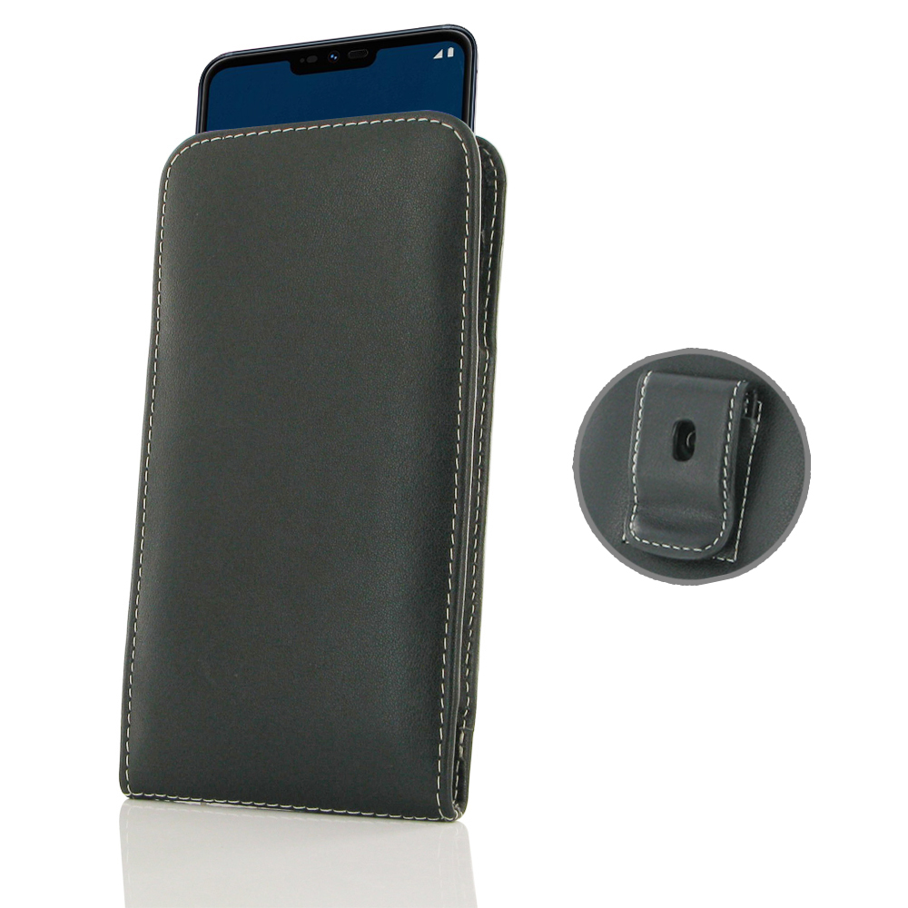 10% OFF + FREE SHIPPING, Buy the BEST PDair Handcrafted Premium Protective Carrying LG G7 One Pouch Case with Belt Clip. Exquisitely designed engineered for LG G7 One.