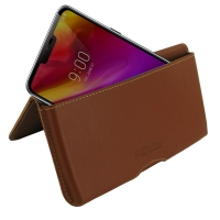 10% OFF + FREE SHIPPING, Buy the BEST PDair Handcrafted Premium Protective Carrying LG G7 ThinQ Leather Wallet Pouch Case (Brown). Exquisitely designed engineered for LG G7 ThinQ.