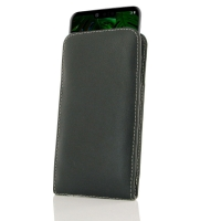 Leather Vertical Pouch Case for LG G8 ThinQ