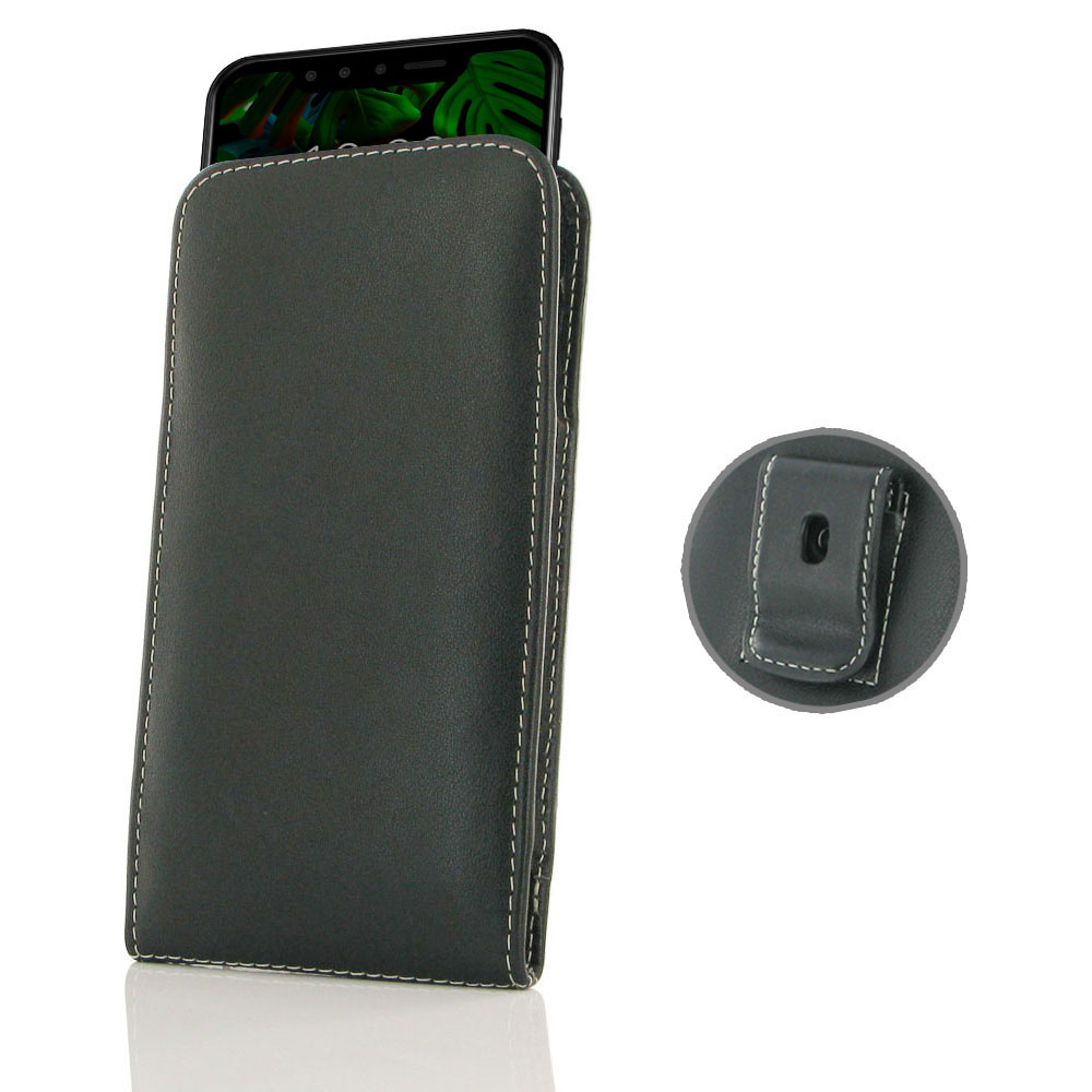 10% OFF + FREE SHIPPING, Buy the BEST PDair Handcrafted Premium Protective Carrying LG G8s ThinQ Pouch Case with Belt Clip. ELG G8s ThinQ Pouch Case with Belt Clip is custom designed to provide full protection with our traditional design. This handmade ca