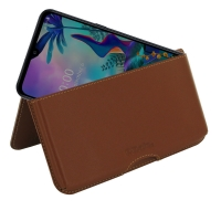 10% OFF + FREE SHIPPING, Buy the BEST PDair Handcrafted Premium Protective Carrying LG G8X ThinQ Leather Wallet Pouch Case (Brown). Exquisitely designed engineered for LG G8X ThinQ.