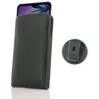 10% OFF + FREE SHIPPING, Buy the BEST PDair Handcrafted Premium Protective Carrying LG G8X ThinQ Pouch Case with Belt Clip. Exquisitely designed engineered for LG G8X ThinQ.