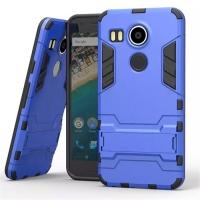 LG Google Nexus 5X Tough Armor Protective Case (Blue)