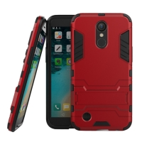 LG K10 (2017) Tough Armor Protective Case (Red)