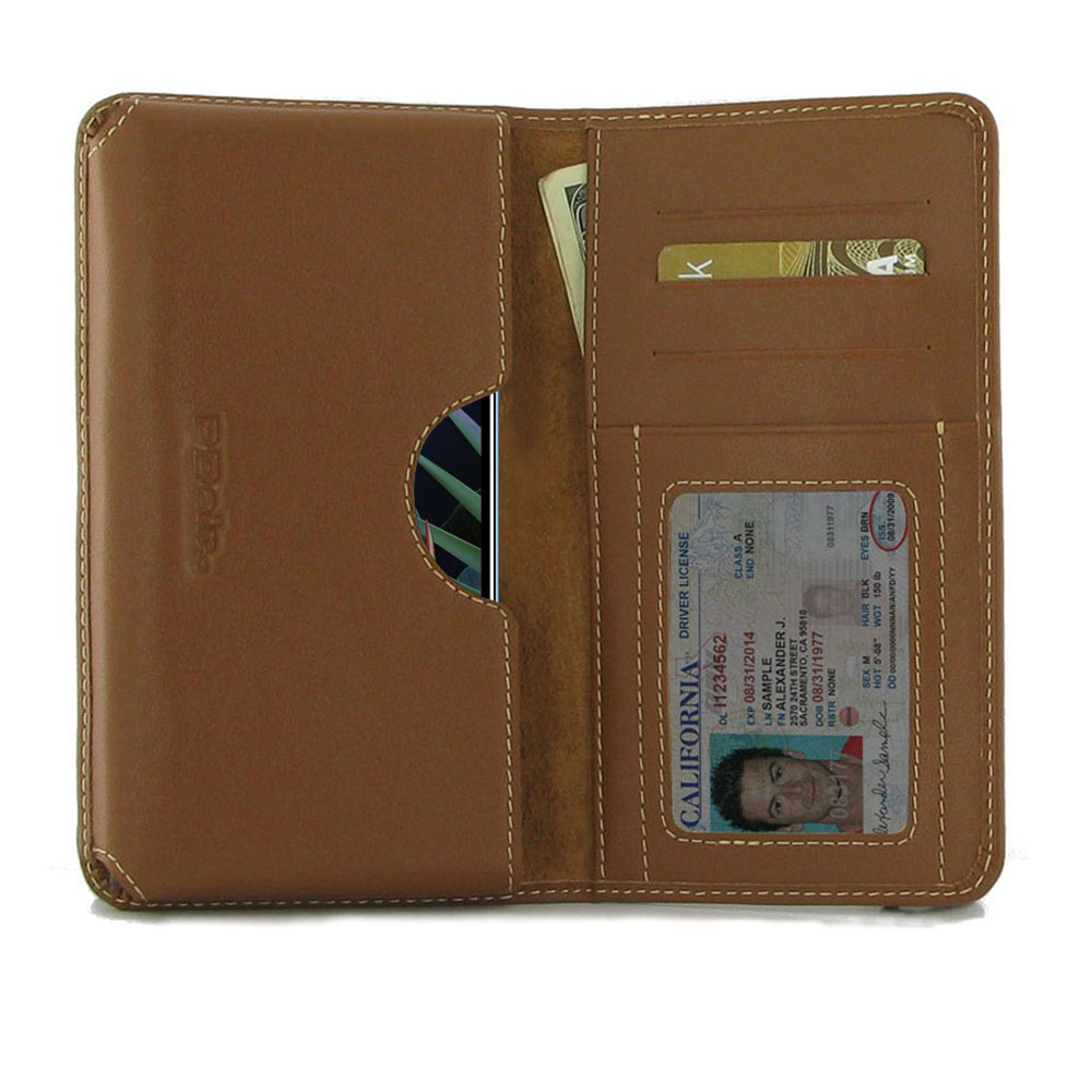 10% OFF + FREE SHIPPING, Buy the BEST PDair Handcrafted Premium Protective Carrying LG K40 Leather Wallet Sleeve Case (Brown). Exquisitely designed engineered for LG K40.