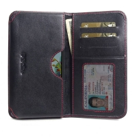 10% OFF + FREE SHIPPING, Buy the BEST PDair Handcrafted Premium Protective Carrying LG K40S Leather Wallet Sleeve Case (Red Stitch). Exquisitely designed engineered for LG K40S.