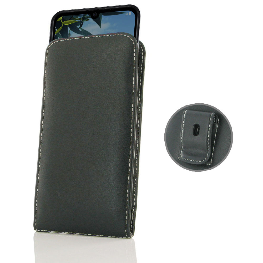 10% OFF + FREE SHIPPING, Buy the BEST PDair Handcrafted Premium Protective Carrying LG K40S Pouch Case with Belt Clip. Exquisitely designed engineered for LG K40S.
