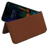 10% OFF + FREE SHIPPING, Buy the BEST PDair Handcrafted Premium Protective Carrying LG K50 Leather Wallet Pouch Case (Brown). Exquisitely designed engineered for LG K50.