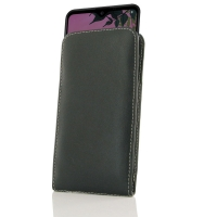 Leather Vertical Pouch Case for LG K50S