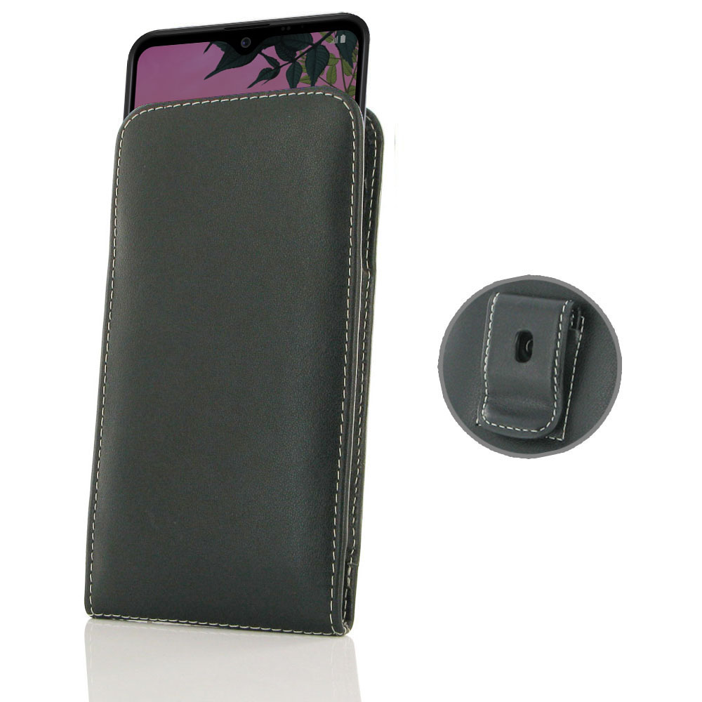 10% OFF + FREE SHIPPING, Buy the BEST PDair Handcrafted Premium Protective Carrying LG K50S Pouch Case with Belt Clip. Exquisitely designed engineered for LG K50S.