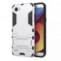 10% OFF + FREE SHIPPING, Buy the BEST PDair Premium Protective Carrying LG Q6 Tough Armor Protective Case (Silver). Exquisitely designed engineered for LG Q6.