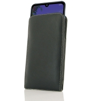 10% OFF + FREE SHIPPING, Buy the BEST PDair Handcrafted Premium Protective Carrying LG Q60 Leather Sleeve Pouch Case. Exquisitely designed engineered for LG Q60.