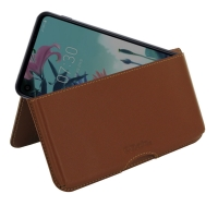 10% OFF + FREE SHIPPING, Buy the BEST PDair Handcrafted Premium Protective Carrying LG Q70 Leather Wallet Pouch Case (Brown). Exquisitely designed engineered for LG Q70.