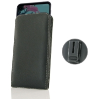 10% OFF + FREE SHIPPING, Buy the BEST PDair Handcrafted Premium Protective Carrying LG Q70 Pouch Case with Belt Clip. Exquisitely designed engineered for LG Q70.