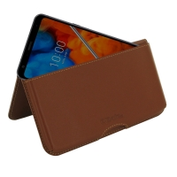 10% OFF + FREE SHIPPING, Buy the BEST PDair Handcrafted Premium Protective Carrying LG Q8 (2018) Leather Wallet Pouch Case (Brown). Exquisitely designed engineered for LG Q8 (2018).